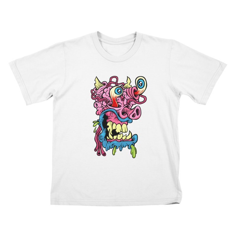 Gnarly Charlie Kids T-Shirt by SavageMonsters's Artist Shop