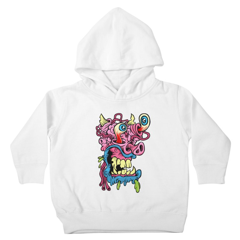 Gnarly Charlie Kids Toddler Pullover Hoody by SavageMonsters's Artist Shop