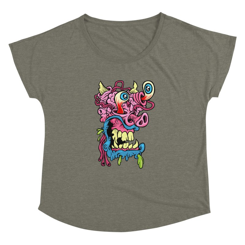 Gnarly Charlie Women's Dolman by SavageMonsters's Artist Shop