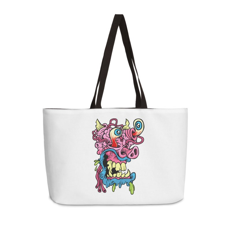 Gnarly Charlie Accessories Weekender Bag Bag by SavageMonsters's Artist Shop