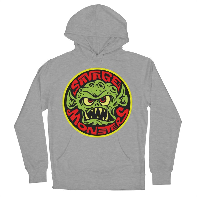 Classic Savage Monsters Logo Women's Pullover Hoody by SavageMonsters's Artist Shop