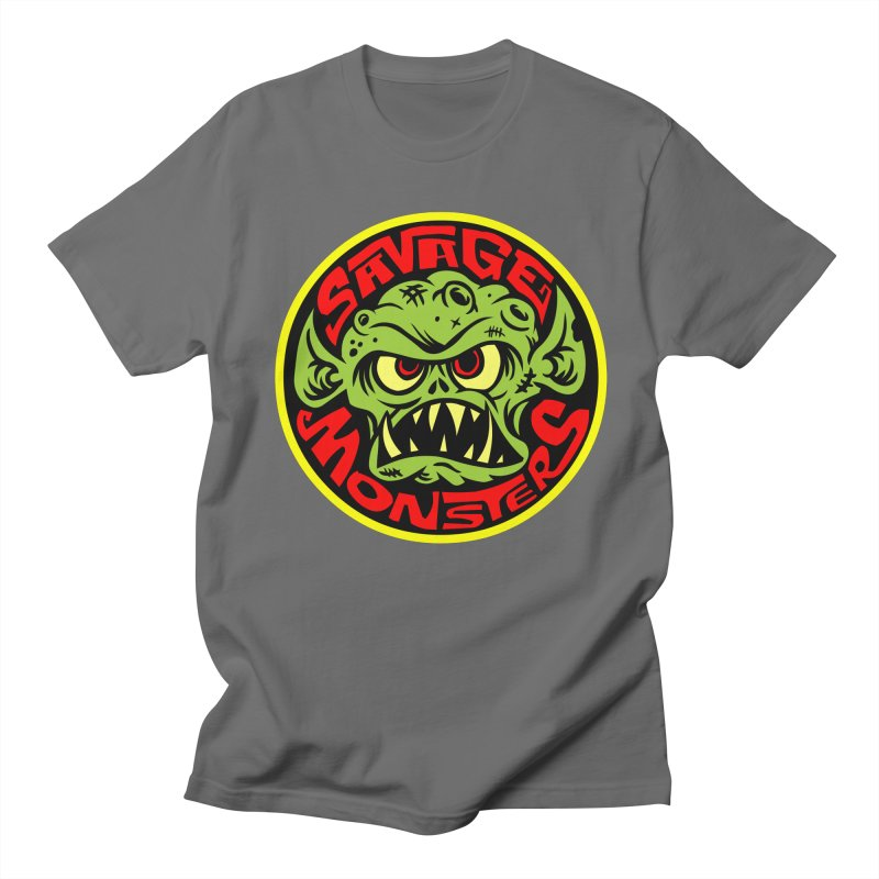 Classic Savage Monsters Logo Women's Unisex T-Shirt by SavageMonsters's Artist Shop