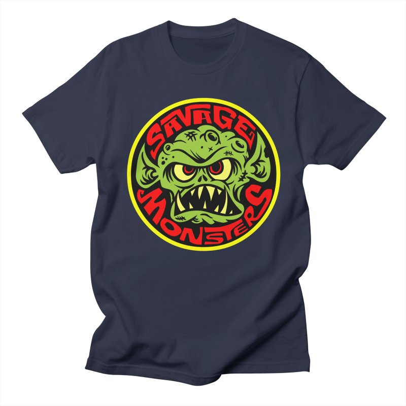 Classic Savage Monsters Logo Women's Regular Unisex T-Shirt by SavageMonsters's Artist Shop