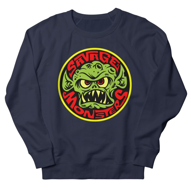 Classic Savage Monsters Logo Men's Sweatshirt by SavageMonsters's Artist Shop