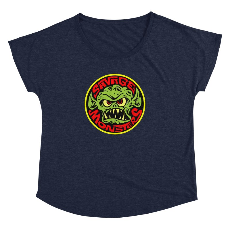 Classic Savage Monsters Logo Women's Dolman by SavageMonsters's Artist Shop