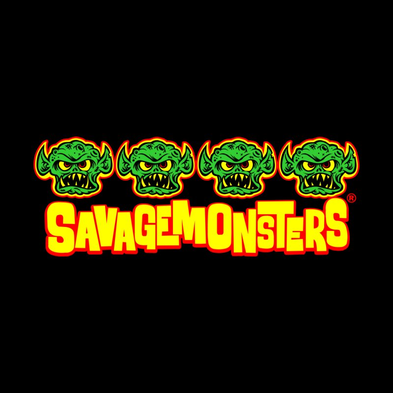 Savage Monsters Candy Logo Men's Longsleeve T-Shirt by SavageMonsters's Artist Shop