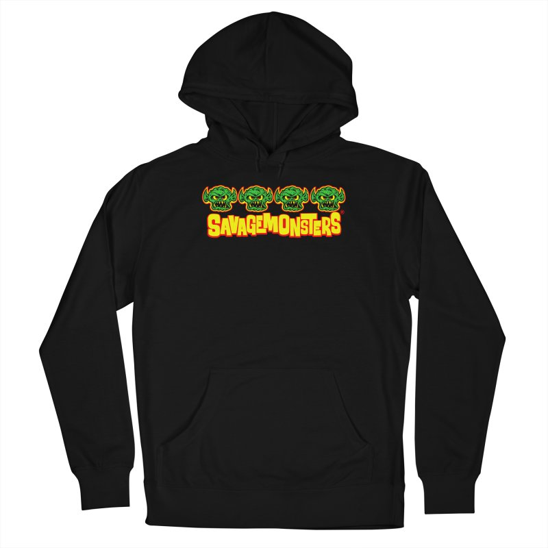 Savage Monsters Candy Logo Men's Pullover Hoody by SavageMonsters's Artist Shop