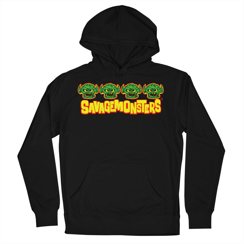 Savage Monsters Candy Logo Men's French Terry Pullover Hoody by SavageMonsters's Artist Shop