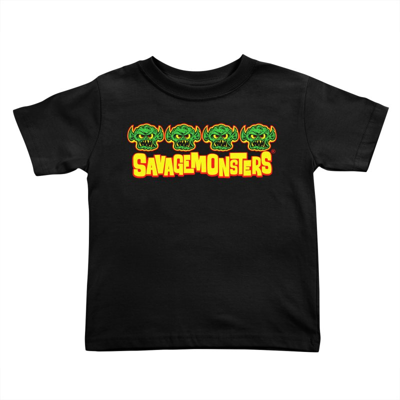 Savage Monsters Candy Logo Kids Toddler T-Shirt by SavageMonsters's Artist Shop