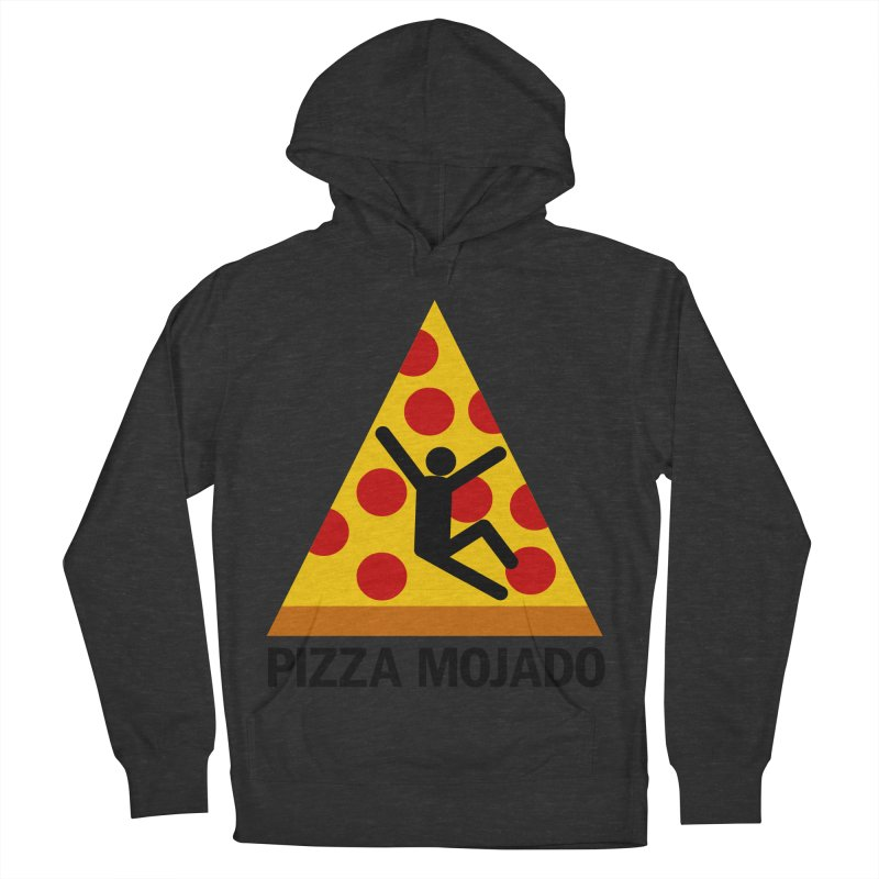 Pizza Mojado Men's Pullover Hoody by SavageMonsters's Artist Shop