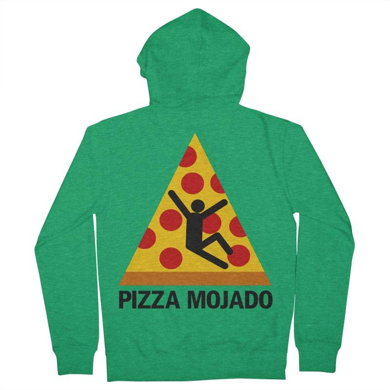 Pizza Mojado Women's Zip-Up Hoody by SavageMonsters's Artist Shop