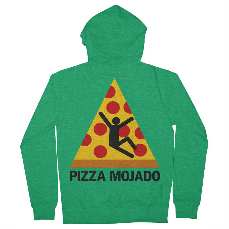 Pizza Mojado Men's Zip-Up Hoody by SavageMonsters's Artist Shop