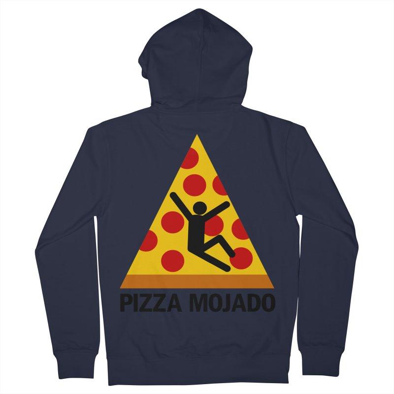 Pizza Mojado Men's Zip-Up Hoody by SavageMonsters's Artist Shop