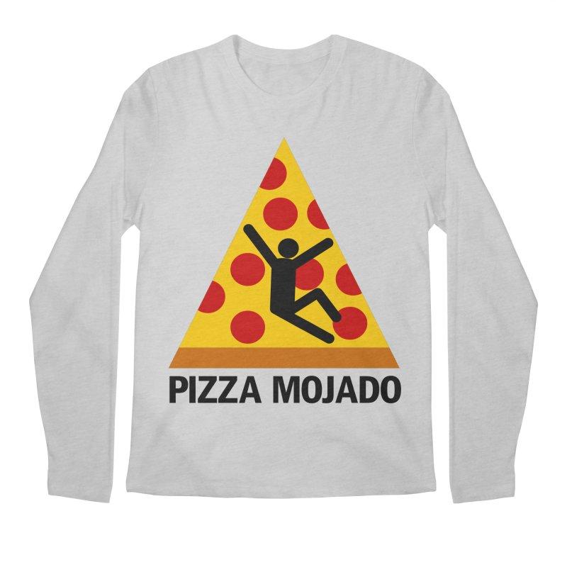 Pizza Mojado Men's Longsleeve T-Shirt by SavageMonsters's Artist Shop