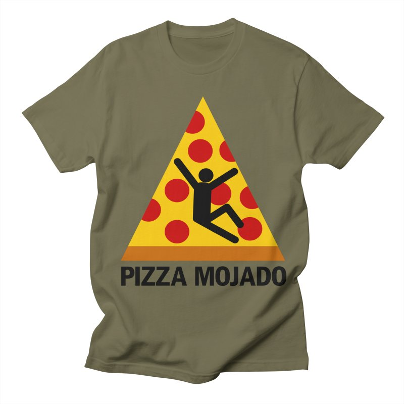 Pizza Mojado Men's T-Shirt by SavageMonsters's Artist Shop