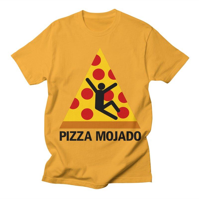 Pizza Mojado Men's T-shirt by SavageMonsters's Artist Shop