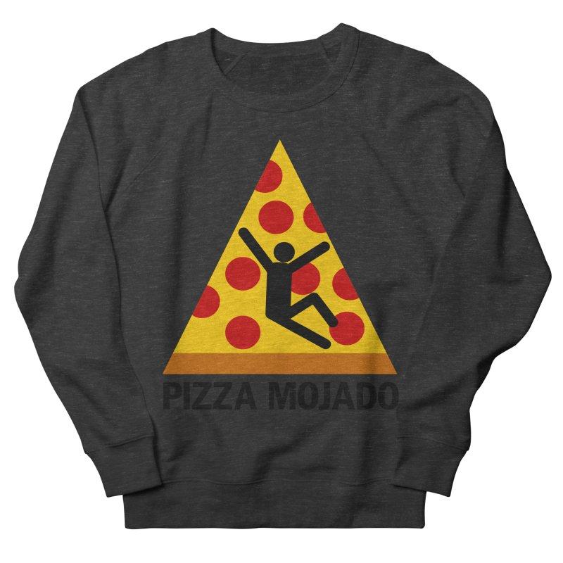 Pizza Mojado Men's Sweatshirt by SavageMonsters's Artist Shop