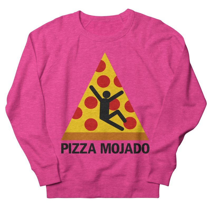 Pizza Mojado Men's Sweatshirt by SavageMonsters's Artist Shop