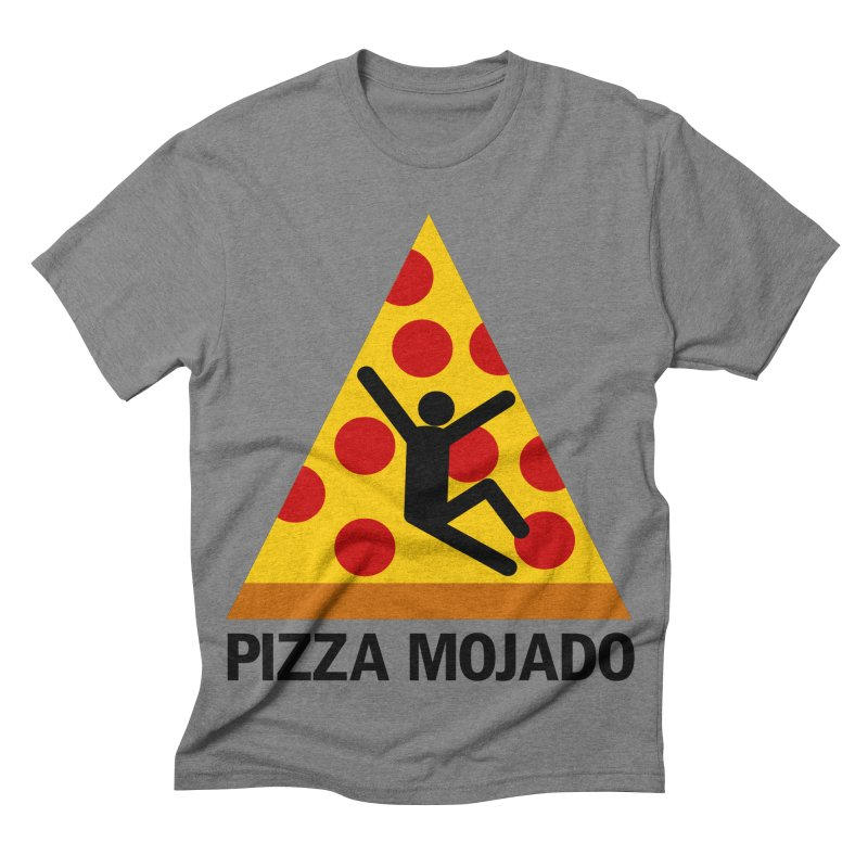Pizza Mojado Men's Triblend T-shirt by SavageMonsters's Artist Shop