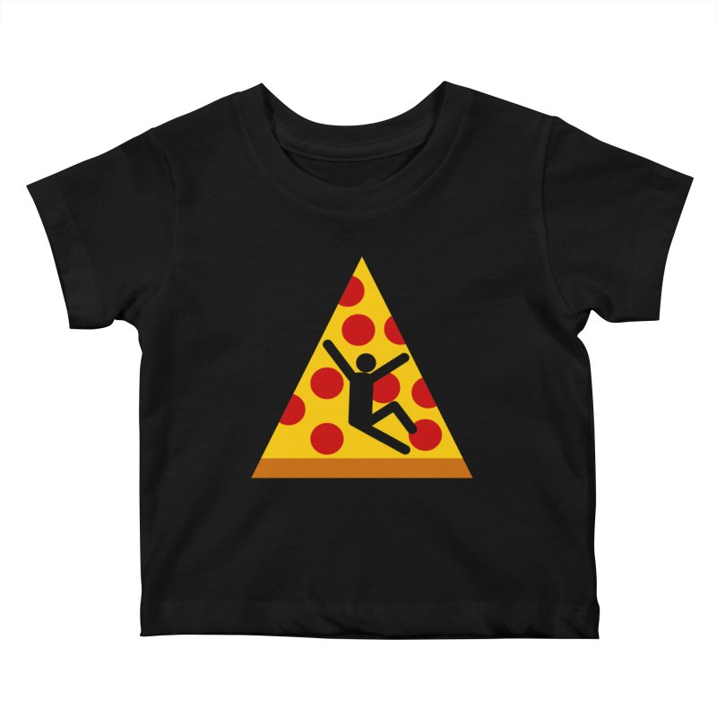 Pizza Mojado Kids Baby T-Shirt by SavageMonsters's Artist Shop