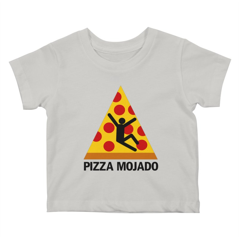 Pizza Mojado Kids Baby T-Shirt by SavageMonsters's Artist Shop