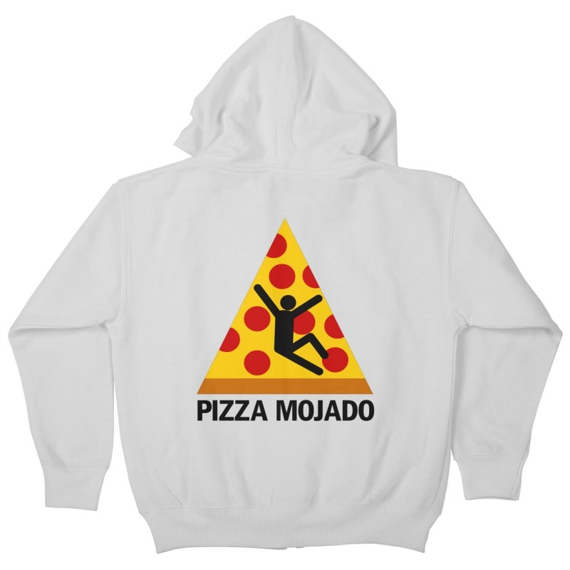 Pizza Mojado Kids Zip-Up Hoody by SavageMonsters's Artist Shop