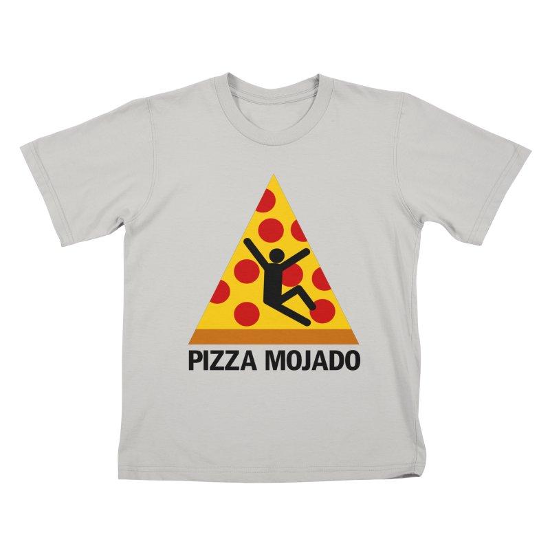 Pizza Mojado Kids T-Shirt by SavageMonsters's Artist Shop