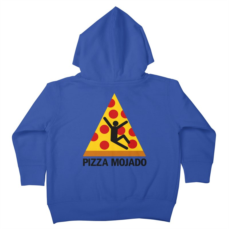 Pizza Mojado Kids Toddler Zip-Up Hoody by SavageMonsters's Artist Shop