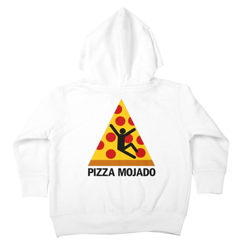 Pizza Mojado Kids Toddler Zip-Up Hoody by SavageMonsters's Artist Shop
