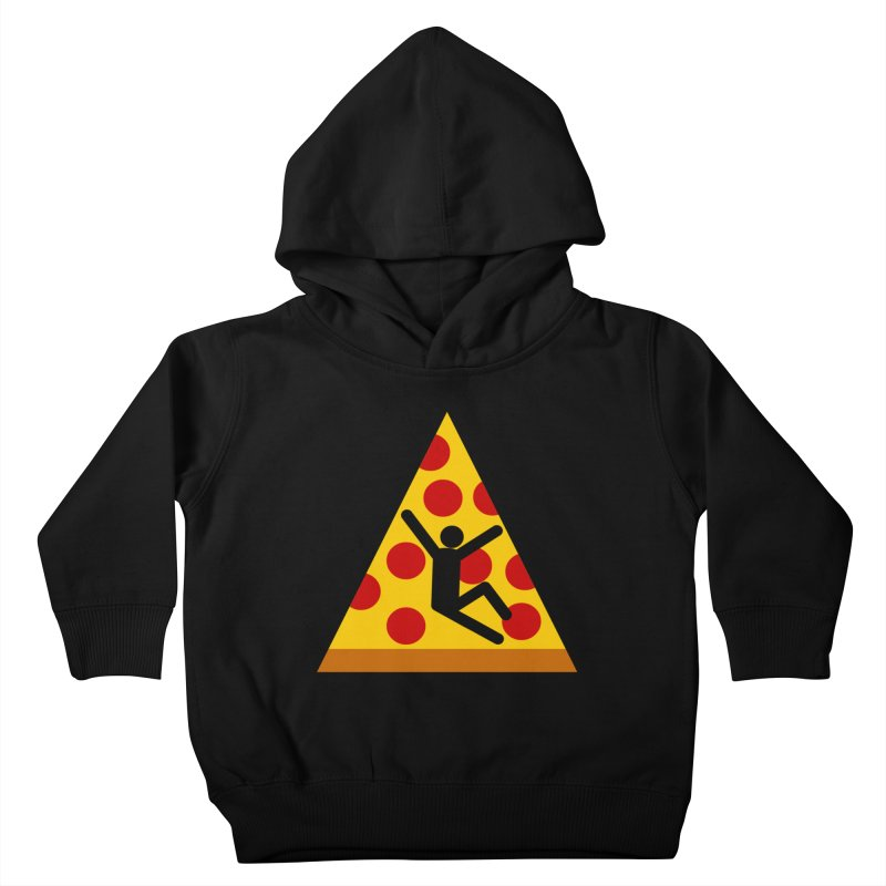 Pizza Mojado Kids Toddler Pullover Hoody by SavageMonsters's Artist Shop