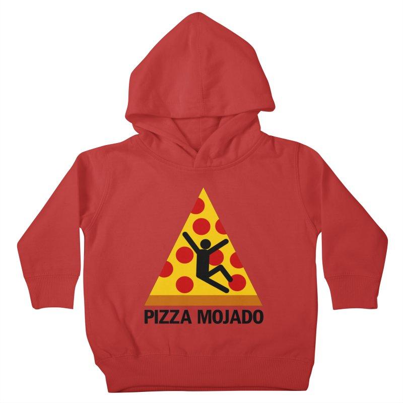 Pizza Mojado Kids Toddler Pullover Hoody by SavageMonsters's Artist Shop