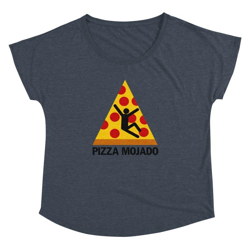 Pizza Mojado Women's Dolman by SavageMonsters's Artist Shop