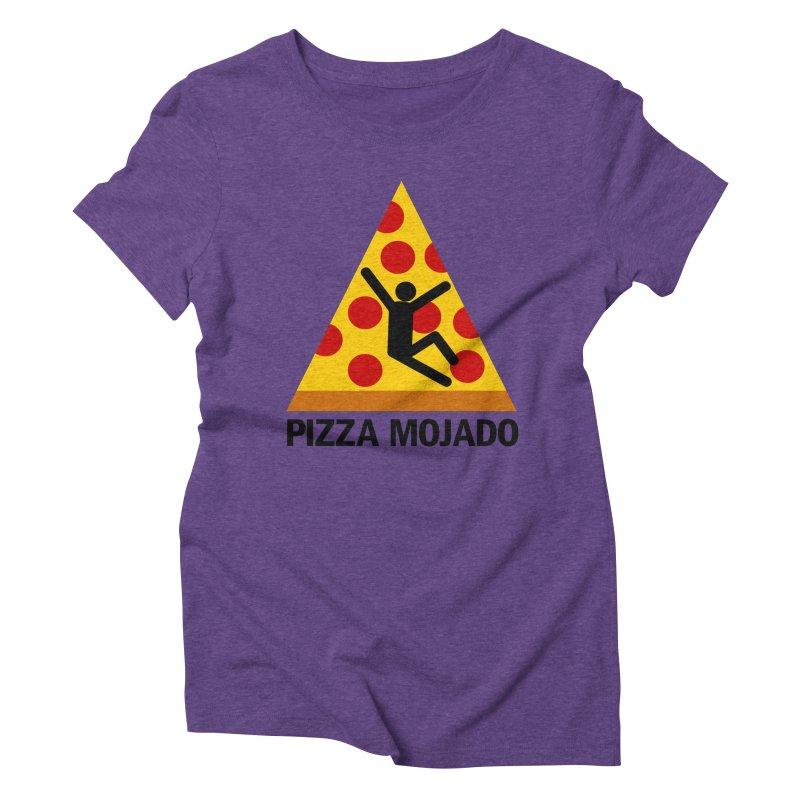 Pizza Mojado Women's Triblend T-Shirt by SavageMonsters's Artist Shop