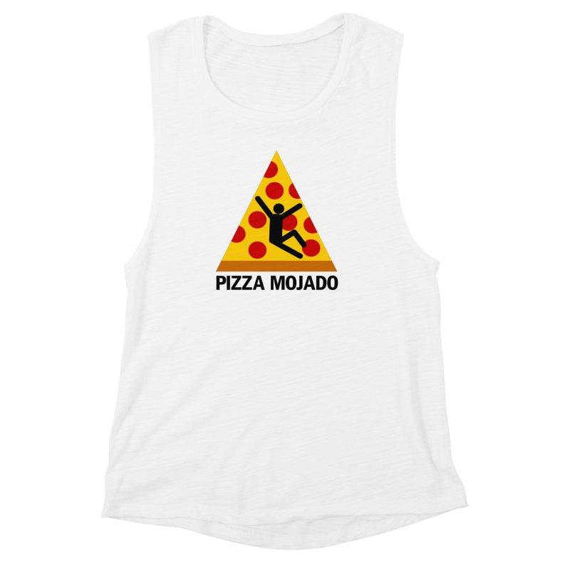 Pizza Mojado Women's Muscle Tank by SavageMonsters's Artist Shop