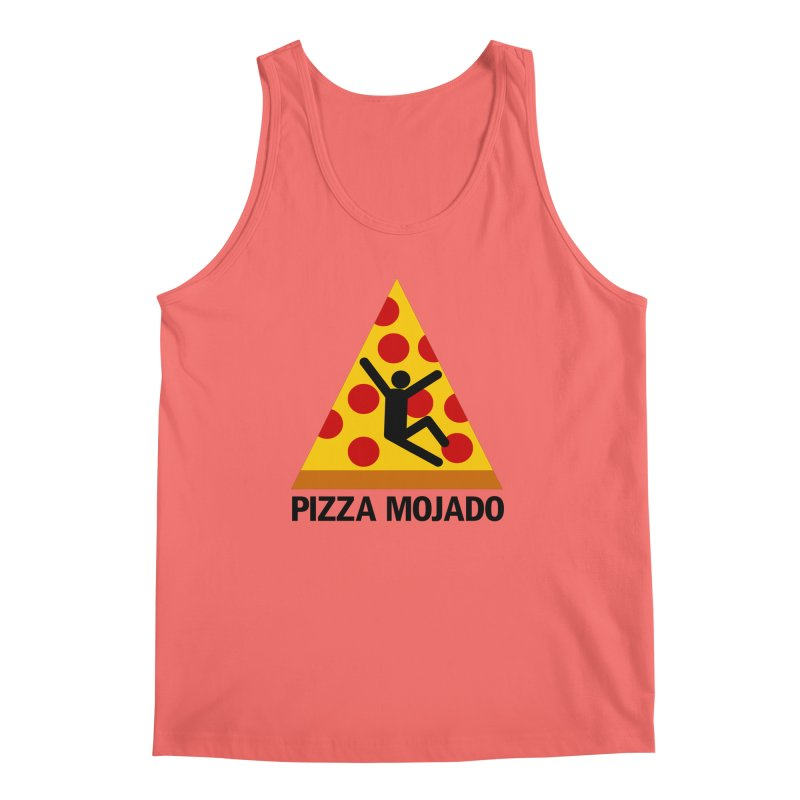 Pizza Mojado Men's Tank by SavageMonsters's Artist Shop