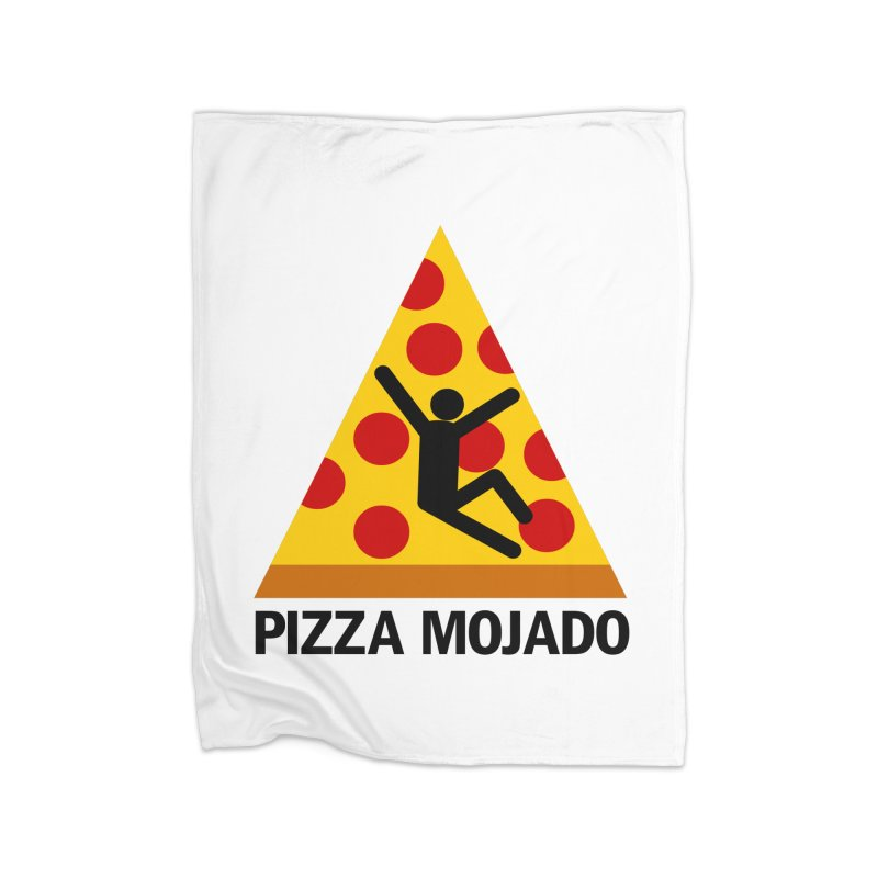 Pizza Mojado Home Blanket by SavageMonsters's Artist Shop