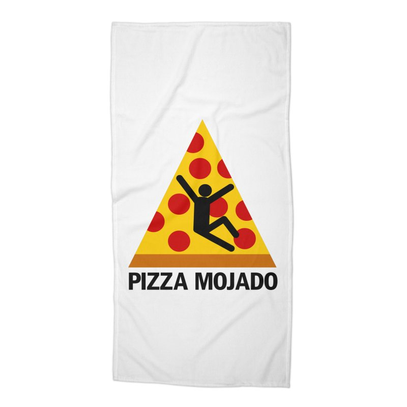 Pizza Mojado Accessories Beach Towel by SavageMonsters's Artist Shop