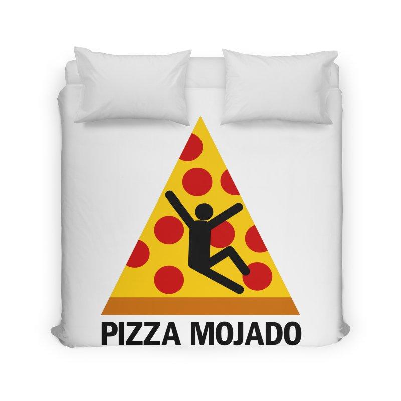 Pizza Mojado Home Duvet by SavageMonsters's Artist Shop
