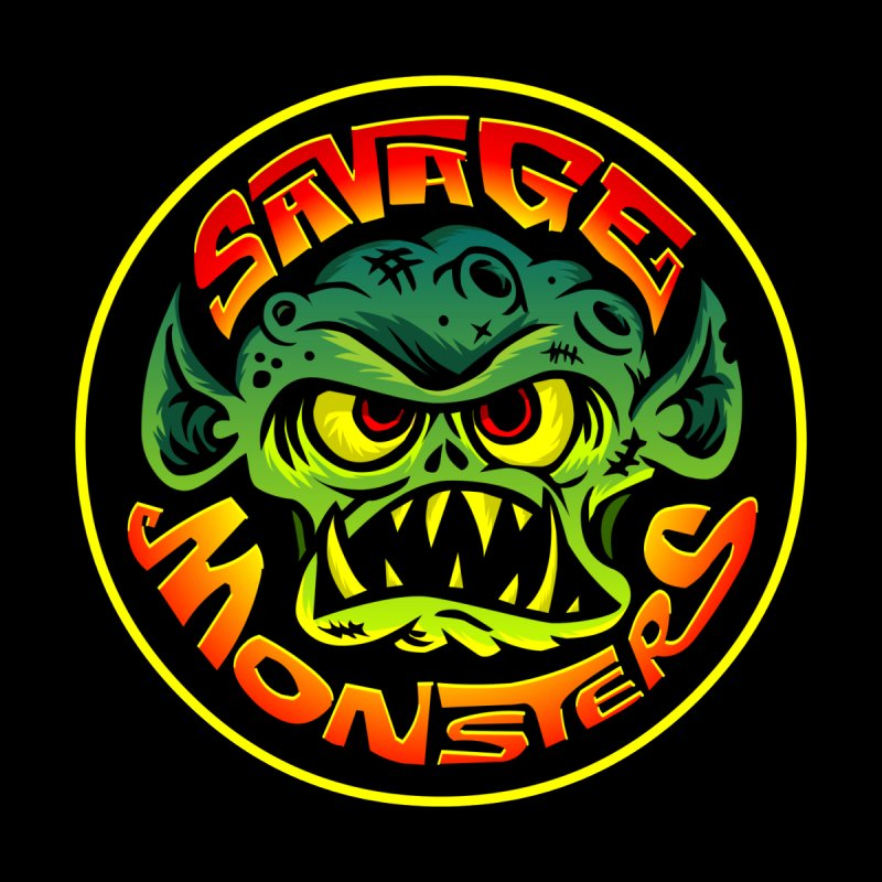 Savage Monsters Radicalized Logo by SavageMonsters's Artist Shop