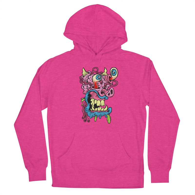 Gnarly Charley Men's French Terry Pullover Hoody by SavageMonsters's Artist Shop