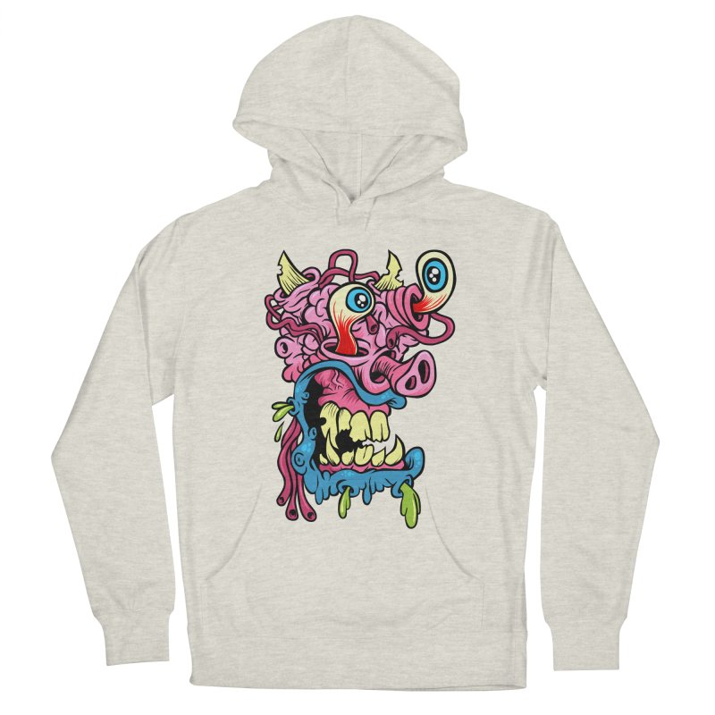Gnarly Charley Women's French Terry Pullover Hoody by SavageMonsters's Artist Shop
