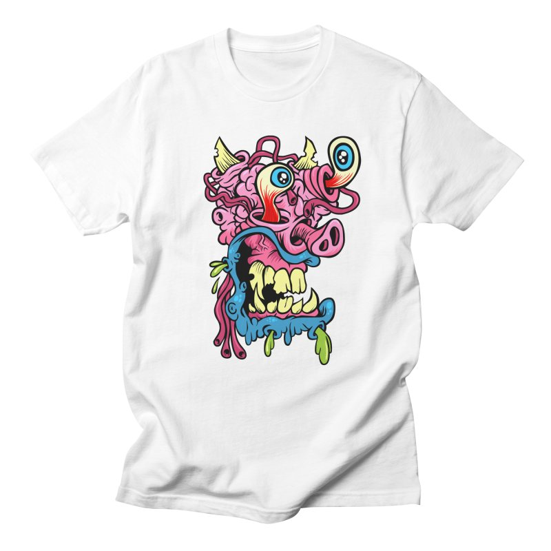Gnarly Charley in Men's T-shirt White by SavageMonsters's Artist Shop