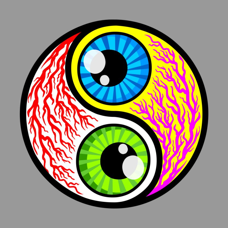 Yin Yang Eyeballs by SavageMonsters's Artist Shop
