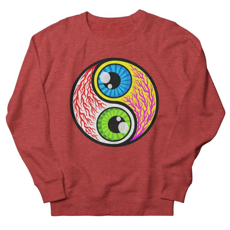 Yin Yang Eyeballs Men's Sweatshirt by SavageMonsters's Artist Shop