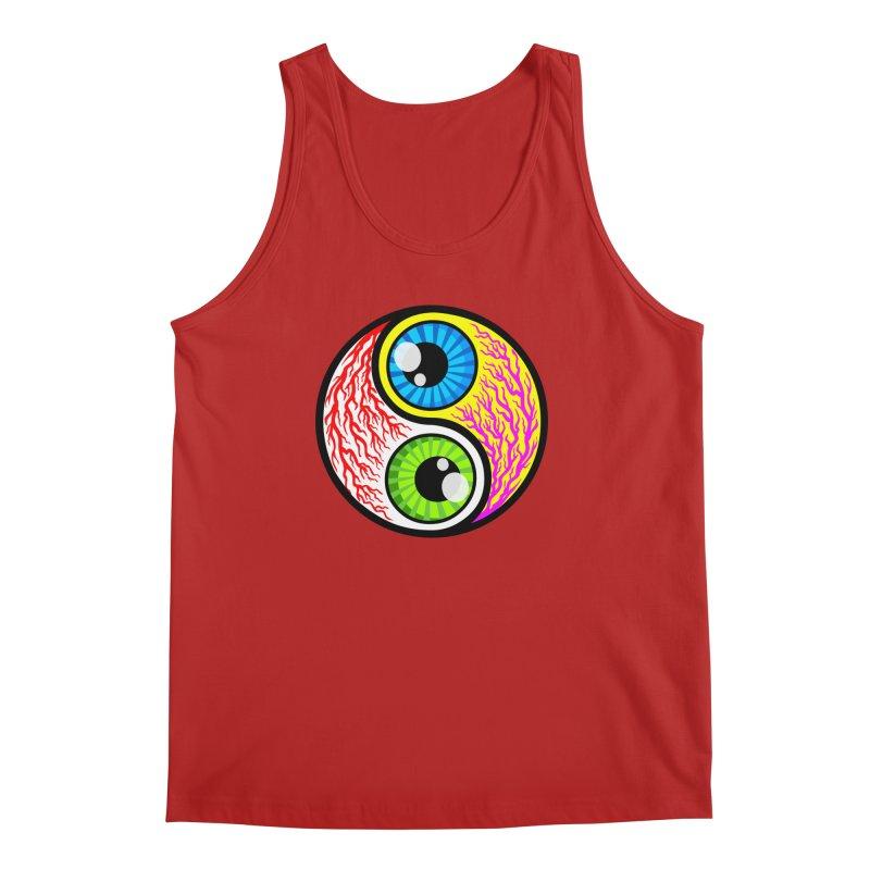 Yin Yang Eyeballs Men's Tank by SavageMonsters's Artist Shop