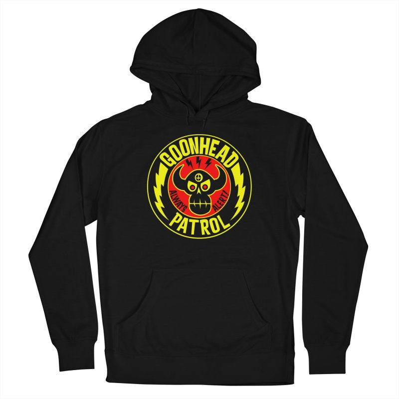 Goonhead Patrol Men's French Terry Pullover Hoody by SavageMonsters's Artist Shop