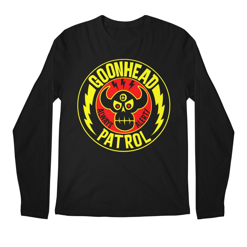 Goonhead Patrol Men's Longsleeve T-Shirt by SavageMonsters's Artist Shop