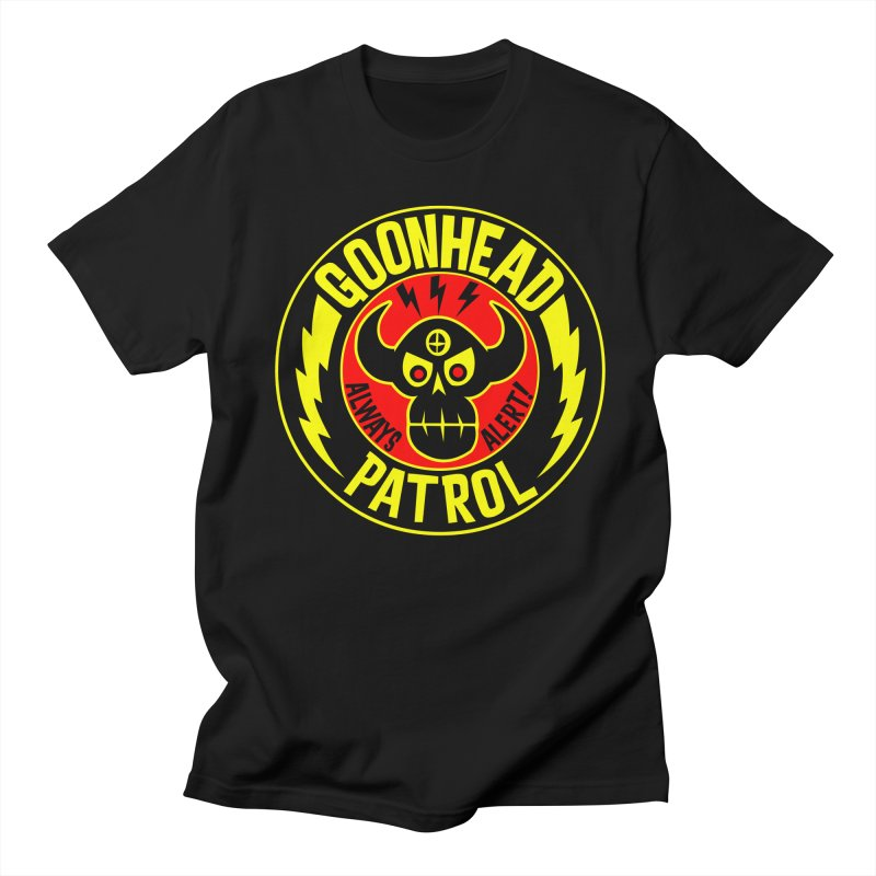 Goonhead Patrol Men's T-shirt by SavageMonsters's Artist Shop