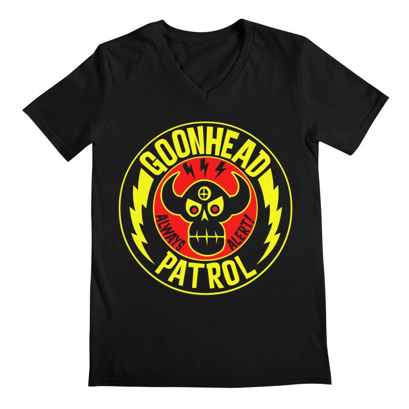 Goonhead Patrol Men's V-Neck by SavageMonsters's Artist Shop