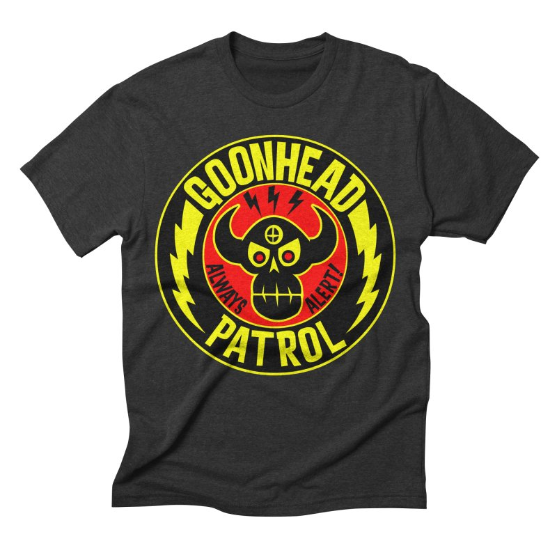 Goonhead Patrol Men's Triblend T-shirt by SavageMonsters's Artist Shop